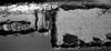 多面体・2 (polyhedron 2) (Dinasty_Oomae) Tags: コダック kodak コダック35 kodak35 blackandwhite bw monochrome blackwhite 白黒 白黒写真 outdoor 千葉県 千葉 chiba 松戸市 松戸 matsudo 波 ripple wavelet 反射 reflection 川 river