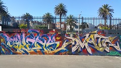 Bailer & DVATE... (colourourcity) Tags: streetart streetartnow streetartaustralia graffiti melbourne burncity awesome colourourcity nofilters art original bailer bale bail bails id instinctdriven acm artcrushmob dvate dv8 dv8te adn mdr f1 sdm joiner burner