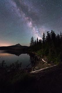 Big Lake at Night