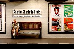 Sophie-Charlotte-Platz (nickcoates74) Tags: berlin germany deutschland ubahnhof sony ubahn alpha charlottenburg sophiecharlotteplatz a6000 ilce6000