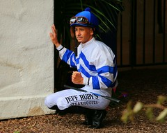 Mike Smith (kimpossible pics) Tags: horse racetrack jockey horseracing delmar racehorse thoroughbred equine paddock mikesmith delmarracetrack delmarthoroughbredclub