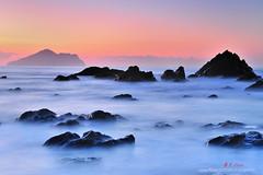 K1X_3834 Sunrise scenery (愚夫.chan) Tags: sunrise taiwan 台灣 龜山島 日出 外澳 宜蘭縣 yilancounty 頭城鎮 頭城晨彩