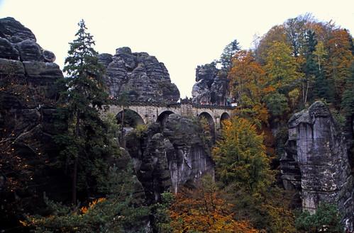 """Elbsandsteingebirge (050) Basteibrücke • <a style=""""font-size:0.8em;"""" href=""""http://www.flickr.com/photos/69570948@N04/21572786858/"""" target=""""_blank"""">View on Flickr</a>"""