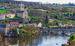 Village  offre France (jymandu) Tags: france rural village rivière pont eglise