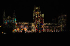 Durham Cathedral (www.SuperStoked.me) Tags: county england lighthouse festival durham cathedral lumiere countydurham 2015