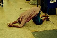 The Prayer (Carlosishere) Tags: man praying kneeling begging bowing