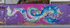 Coragem (Mauriciovitch) Tags: street city cidade urban muro art colors wall cores pared graffiti calle dragon arte grafiti expression ciudad urbana psicodelia rua psychedelic graffit drago grafite grafit drago expresso expresin graffite psicodlico