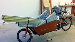 WorkCycles Kr8 with 150kg shelving (@WorkCycles) Tags: amsterdam bakfiets bike box cargo dutch heavy henry kr8 load shelving workcycles