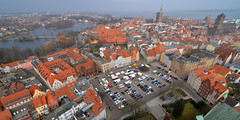 Stralsund panorama (Thomas Roland) Tags: world city travel sea panorama heritage church germany see town view cathedral kirche baltic unesco stadt tyskland ostsee stralsund league stad hav deutchland hansestadt udsigt kirke domkirke hanseatic mecklenburgvorpommern katedral rejse stersen hansestad