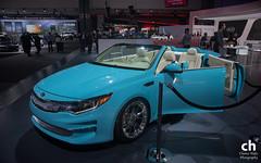 Kia Optima Roadster A1A Concept (Chance Hales) Tags: la losangeles autoshow concept kia roadster optima a1a 2015