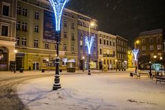 Wałbrzych (nightmareck) Tags: winter night europa europe fuji poland polska handheld fujifilm pancake zima fujinon wałbrzych xe1 apsc dolnośląskie dolnyśląsk mirrorless xtrans fotografianocna xmount xf18mm xf18mmf20r bezlusterkowiec