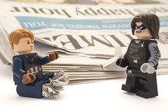 You used to wear newspapers in your shoes (tomtommilton) Tags: winter macro film america movie toy soldier toys newspaper shoes war funny lego quote joke steve humor humour civil captain superhero heroes minifig rogers minifigs superheroes marvel supermacro barnes mcu bucky avengers minifigure afol minifigures