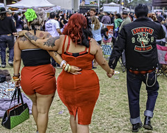 Too Much Is Not Enough (Culture Shlock) Tags: street friends red people men women style relationships leathers menageatrois lifestyles threesomes borntolose