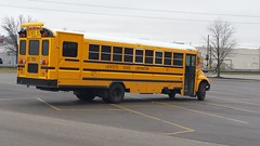 Lafayette School Corporation#75 New 2016 IC CE HANDICAP School Bus Replaced 1999 International Blue Bird   which now use as A Spare at the Tippecanoe (Conrail6013) Tags: 75