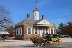 Virginia, Colonial Williamsburg, Court House IMG_2296 (ianw1951) Tags: architecture colonialwilliamsburg historicalreenactment horsedrawntransport usa virginia