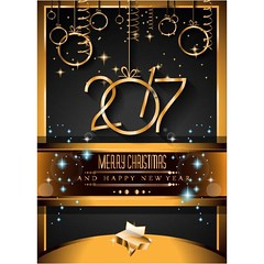 free vector 2017 happy new year party poster background (cgvector) Tags: 2017 abstract background banner bar blurred bokeh brochure cafe card celebration christmas colorful cover december decoration design dinner disco eve event festive flyer food glow gold greeting happy holiday illustration invitation invite light lunch menu new night paper party pattern poster presentation restaurant template text typography vector winter xmas year