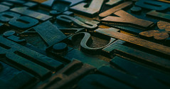 once upon a time (gian_tg) Tags: letterpress woodblock printing typeface fonts typography letters 7dwf crazytuesdaytheme ornament