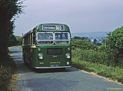 7 SVOC 849 Bristol SUL4A ECW Luccombe Chine July71 (Copy) (focus- transport) Tags: isleofwight iow steamship londonundergroundtube tubetrain southernvectis vectis fountaincoaches buses coaches opentoppers bristol k mw re vr sul easterncoachworks ecw marshall ld lodekka lh lhs bedford ymt ymq duple plaxton sb brush nbc srn6 hovercraft national bus company ryde newport sandown shanklin yarmouth freshwater luccombe ventnor