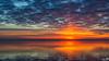 Afterglow (BraCom (Bram)) Tags: bracom afterglow sunset cloud wolk zonsondergang reflection spiegeling evening avond clouds wolken sky water herkingen goereeoverflakkee grevelingen zuidholland nederland southholland netherlands holland canoneos5dmkiii widescreen canon 169 canonef24105mm bramvanbroekhoven nl