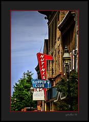Supper Club (the Gallopping Geezer '4' million + views....) Tags: sign signage building structure business store storefront ad advertise advertisement bar restaurant drink tavern pub food hancock mi michigan upperpeninsula smalltown mainstreet cqnon 5d3 tamron 28300 geezer 2016 roadtrip