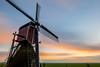 Lagenwaardse Molen (ShutterBasset) Tags: windmill polder dutch grass mill classic longexposure sunset clouds landscape rural netherlands nikon d5200 tokina cokin