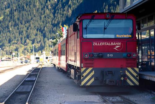 Zillertalbahn, Mayrhofen