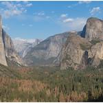 De Yosemite Valley gezien vanaf het Tunnel View-uitkijkpunt ... thumbnail