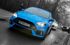 2016 Ford Focus RS. (dementedb43) Tags: icons by the lake autoiconica supervettura virginia water surrey 2016 december supercar ford focus rs nitrous blue