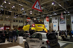Smart stand at the Bologna Motor Show 2016 (Andrea the sleeper) Tags: car auto truck motor show 2016 rare spot spotter andrea sleeper find exposition camion vintage new prototype classic hypercar supercar racecar italy italian old barn heritage french france francia francesi american america usa russia russian sovietic train trainspotter ferrovie dello stato german deutsch museum air wheels rail fiat trattore traktoren steam chimney ciminiera caldaia fumo smoke tractor steamroller rullo compressore roadroller