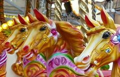 Smile (robbie20161) Tags: horses fairground roundabout carousel nostalgia colours rides victoriana albertdocks liverpool