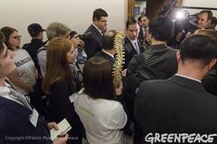 Spineless Vote On Tillerson Confirmation (Greenpeace USA 2016) Tags: tillerson rex donald trump secretaryofstate capitol capital washington dc oil fossilfuel exxon mobile climatechange denier usa