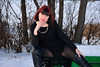 DCS_2489_00097 (dmitriy1968) Tags: portrait портрет nature природа erotic sexsual эротично beautiful girl wife люди people evening придонье девушка отдых путешествия outdoor секси зима winter снег snow колготки tights солнечный день sunny day