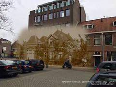 Alkmaar, Scharlo 1922-2017 (Regionaal Archief Alkmaar) Tags: alkmaar timewarp toenennu rephotography thenandnow bergerweg scharlo stationsweg