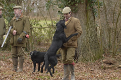 Mad Dogs and Englishmen (Kentish Plumber) Tags: redleafshoot pheasantshoot countrysidepersuits weald kent uk wellies tweed hats caps boots gun shotgun shoot woodland farmland 12gauge 12bore overandunder sidebyside workingdog gundog labrador spaniel