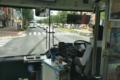 在博多車站要到天神去,其實搭公車還蠻方便的。不一定都要仰賴地鐵。 (rockyang) Tags: japan fukuoka nextbit robin