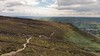 The trail back from Nether Tor to Ringing Roger (Tibby Man) Tags: edale derbyshire england