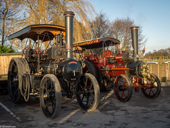 Steam at The Olde No.3 (Ben Matthews1992) Tags: 2016 lymm boxingday roadrun cheshire england britain british steam engine traction old vintage historic preserved preservation vehicle transport mclaren 1642 be8739 aveling porter 3199 ma7892 vanguard