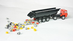 aDSC_4176 (hajdekr) Tags: moc lego toy vehicle automobile truck tractor small easy technic wheels myowncreation 4k ultrahighdefinition uhd tipper truckwithtipper update updated new