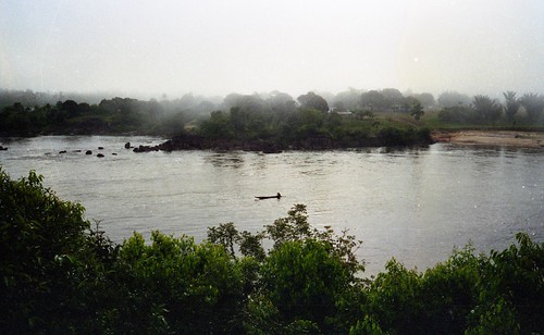 The view of the river from our camp