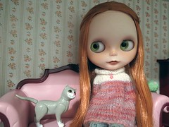 February 5, 2017 - Blythe a Day - Warm and Fuzzy