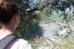 Apreciando a vista (bsupranzetti) Tags: girl view fozdoiguaçu puertoiguazu iguazu iguaçu missiones argentina falls cataratas rainbow arcoiris