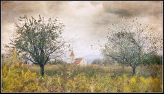 Hometown (Atrista Vig ) Tags: autumn badenwürttemberg breisgau church herbst ilce7 kirche licht light outdoor paper papier reispaper reispapier reute sony sonya7 sonyalpha7 sonyfe2470mmf4zaoss textur