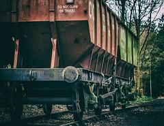 Wagons in the woods (Blaydon52C) Tags: chopwell woods waggonway industrial consettironcompany ncb railway rail train coal mining history durham highspen derwent blaydon rowlandsgill derwentvalley riverderwent