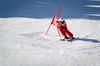 Juste avant la bosse (La Pom ) Tags: combloux flêche compétition descente géant moniteur ouvreur porte piste stade rodhos ski