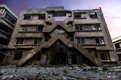 Gunkanjima: Block X Violex (gdgatextures) Tags: abandoned gunkanjima haikyo japan japanese kyushu nagasaki onsale ruin urbanexploration urbex