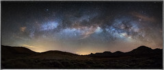 The Milky Way Arc (MartinFechtner-Photography) Tags: skynightcloudsstarscanonlongexposurestartenerifeeosmilkywayf28galaxysamyangnachtphotographygalaxiecanaryislandswalimex14mmnightscapetenerif panorama panoramic