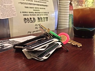 2015 YIP - Day 226: Keys on the counter