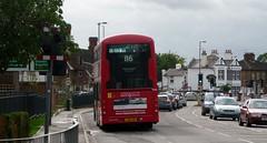 New 116 deckers (bobsmithgl100) Tags: 3 bus volvo surrey wright ashford gemini lbg londonunited route116 townlane lj15 b5lh vh50 lj15lbg