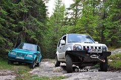 Suzuki Jimny & Vitara (SergiuSV) Tags: japanese offroad 4x4 4wd romania 16 suzuki petrol vitara 13 jimny offroader 4×4 jlx offroadvehicles worldcars