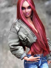 Holly (kingdomdoll) Tags: pink red beauty hair lips bjd kingdomdoll briganteskingdomdoll